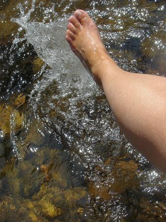 Fußbad für gesunde Füße